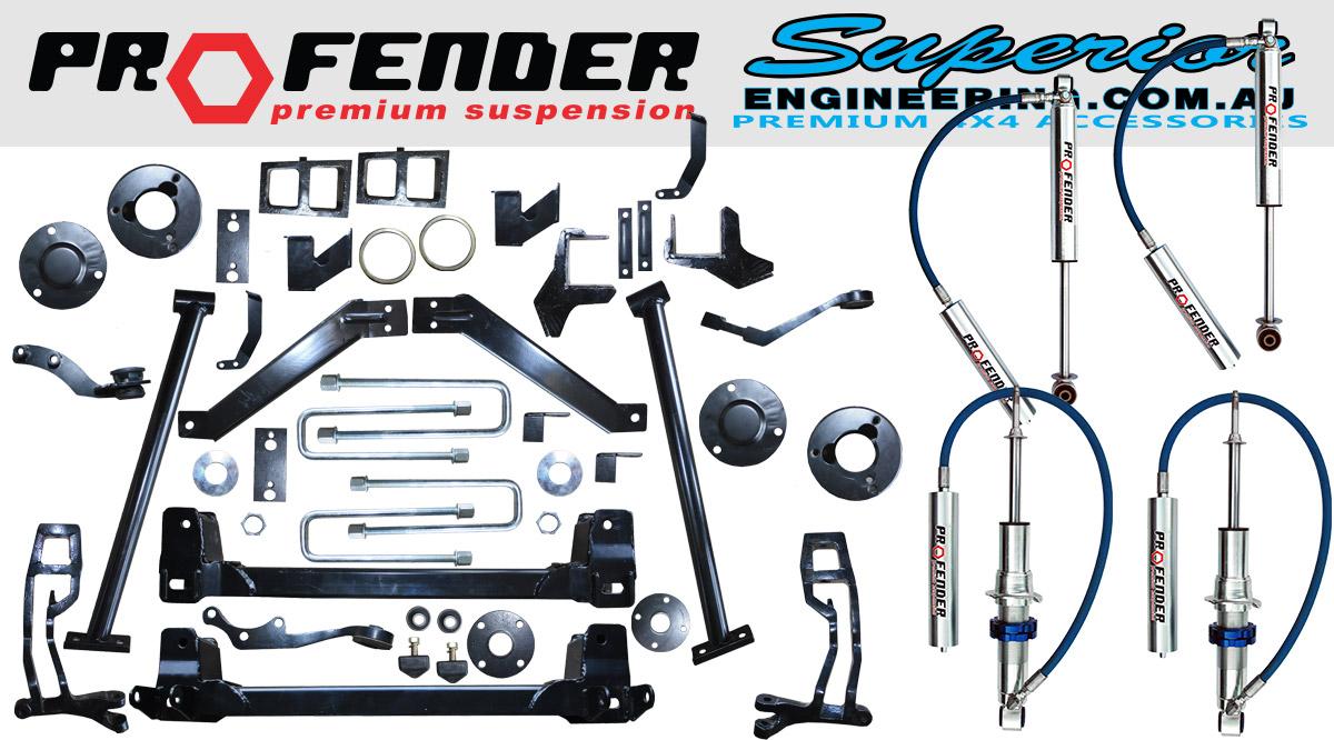 5 Inch Superior Profender Lift Kit