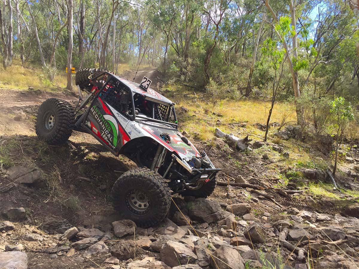 Matt Jillett running the Ultra4 Buggy at round 2 of Aust4 Racing Series 2017